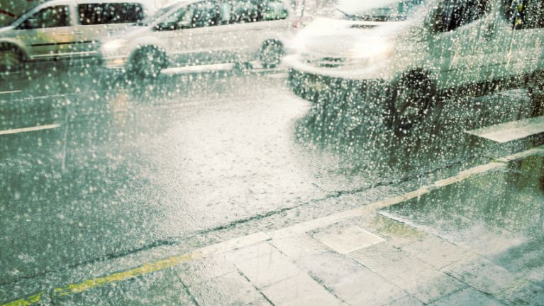 Status orange and yellow rainfall warnings issued for 12 counties