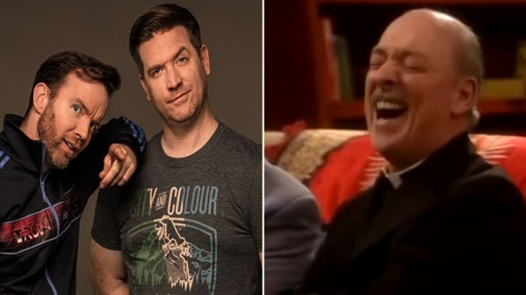 Dermot and Dave crack up as Today FM caller can't stop laughing for three whole minutes