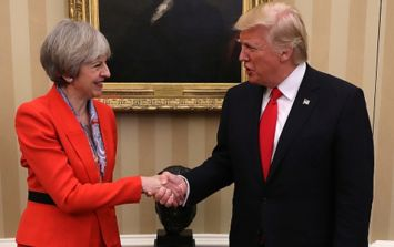 Trump hits out at the UK Prime Minister, tweets the wrong Theresa May, then hits out again