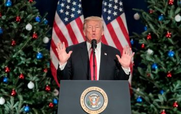 President Trump takes credit for people saying the words ''Merry Christmas'' again