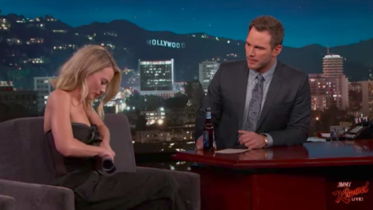 WATCH: Margot Robbie skulling Harp on Jimmy Kimmel is a proud moment for Dundalk