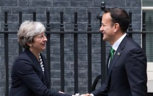 "Theresa May agrees on ""paramount importance of no hard border"" in phone call with Leo Varadkar"