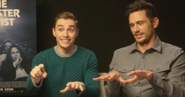 Dave Franco Shows James Franco How To Play The Really