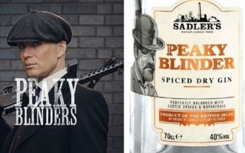 You can now buy Peaky Blinders gin, rum and whiskey