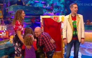 The nation was in tears after seeing an army sergeant reunited with his kids on the Toy Show