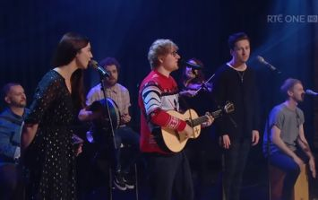 Ed Sheeran, Lisa Hannigan, Picture This and Beoga sing 'Fairytale of New York'