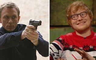 Ed Sheeran has a James Bond theme song already written