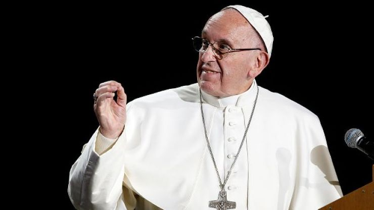 """Pope likens abortion to Nazi crimes but with """"white gloves"""""""