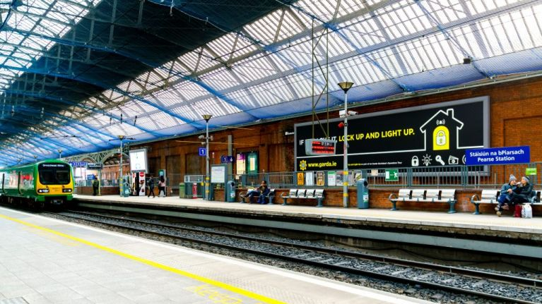 Pearse Street Station Set To Close During Weekends Over