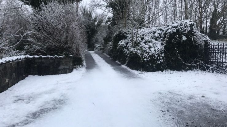 There's some very wintry weather heading our way, according to Met Éireann
