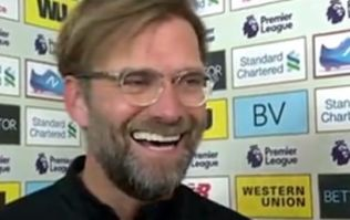 Jurgen Klopp laughs in reporter's face in very spiky post-match interview