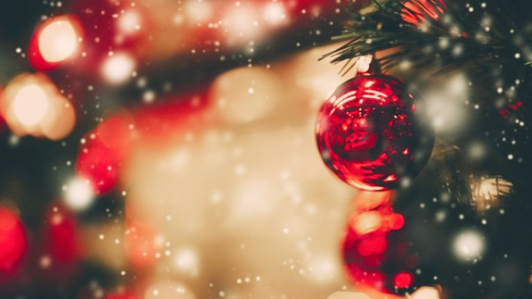 A TV station will be showing nothing but Christmas films... from today onwards