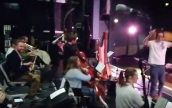 WATCH: Irish orchestra plays along in time with rogue fire alarm