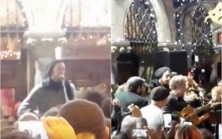 WATCH: Hozier and Glen Hansard outdo themselves during this year's Christmas busk