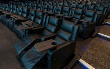 Recliners and an IMAX screen? This Dublin cinema is offering the ultimate viewing experience
