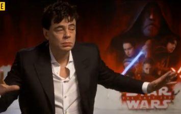 Benicio Del Toro reveals more info about The Last Jedi's most mysterious character