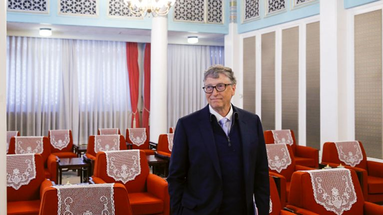 What Bill Gates bought for his Secret Santa-ee will put your office Secret Santa to shame