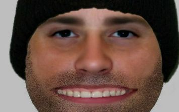 Police release composite photo of a suspect and it is the stuff of nightmares