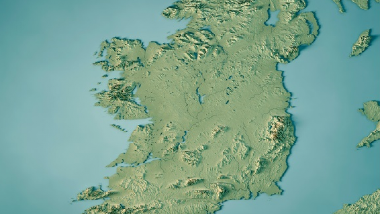 Map Of Ireland 32.Can You Beat The Clock And Name The 32 Counties Of Ireland In