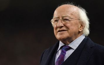 PIC: Michael D. Higgins t-shirts sell out hours after they go on sale