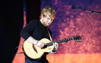 Ed Sheeran announces support act for upcoming Irish tour