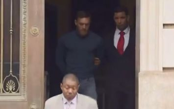 WATCH: Conor McGregor leaves New York police station in handcuffs