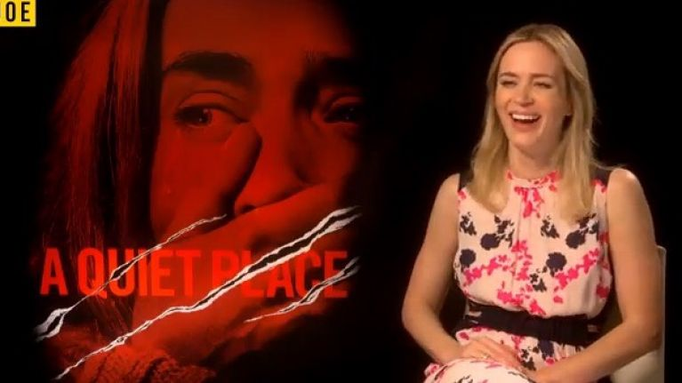 Emily Blunt on the scariest scene in A Quiet Place and not being brought to her husband's secret Irish house