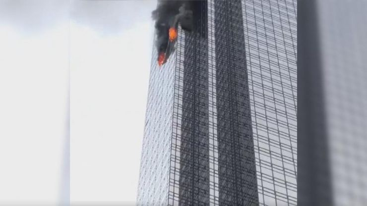 Fire at Trump Tower leaves one dead and four firefighters injured