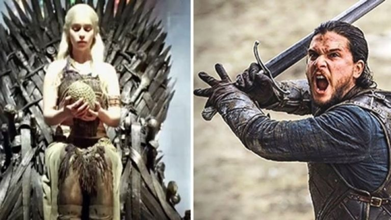 The Iron Throne Daenerys Dragon Eggs And The Amazing Swords From
