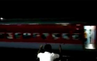 WATCH: Over 1,000 passengers on board an engine-less train that travelled over 13 kms