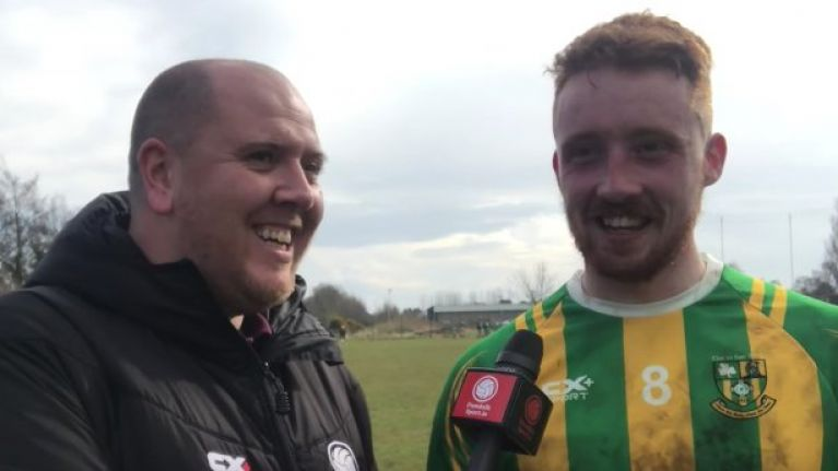 WATCH: Club GAA player in Louth registers contender for most expletive-ridden post-match interview ever