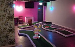 You can now sink putts and pints at the same time with a round of crazy golf at this Dublin pub