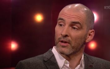 Richie Sadlier talked a lot of sense about education and consent on The Ray D'Arcy Show