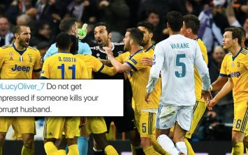 Michael Oliver's wife targeted by Juventus fans on social media following late penalty call