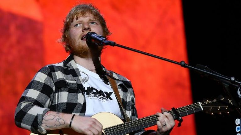 Here's what you can and can't bring to Ed Sheeran's Irish gigs next month