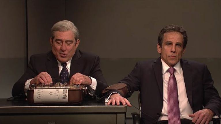 WATCH: Ben Stiller and Robert De Niro revisit Meet The Parents on Saturday Night Live