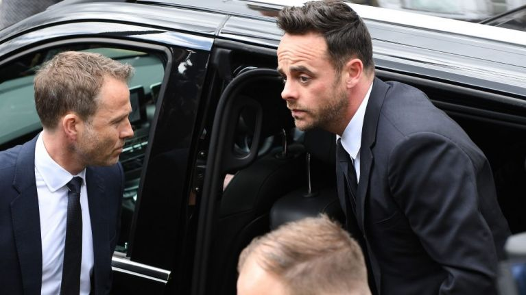 Ant McPartlin fined £86,000 and banned from driving for 20 months