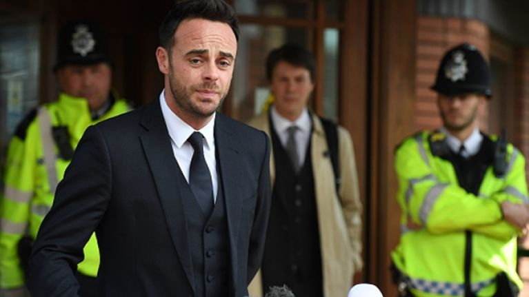 Ant McPartlin releases statement after being fined and banned from driving for 20 months
