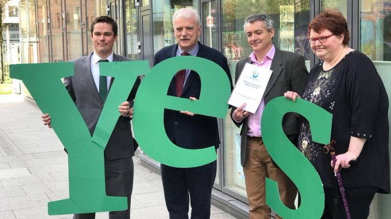 Inclusion Ireland joins Together For Yes campaign in seeking yes vote