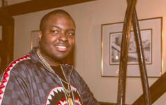 Sean Kingston was just casually spotted at the chipper in Kildare