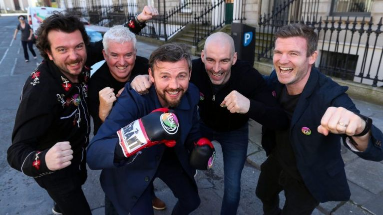Sporting and TV personalities launch campaign urging men to vote 'Yes' in abortion referendum