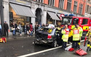 Three injured following collision between Garda car and three other vehicles in Dublin