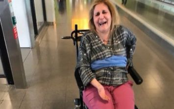Woman with MS claims she was tied to a wheelchair by Delta Airlines after a flight