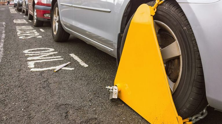 The worst areas for clamping in Dublin have been revealed
