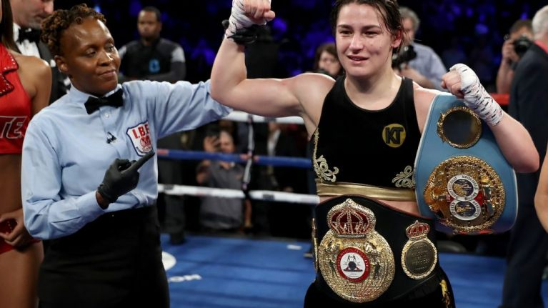 'I want all of the belts by the end of the year!' - Katie Taylor makes Ireland proud with latest win