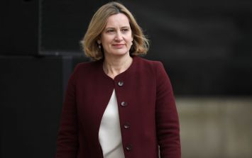 British Home Secretary Amber Rudd has resigned