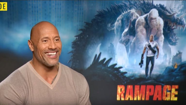 The Big Reviewski #14 with Hollywood superstar Dwayne THE ROCK Johnson