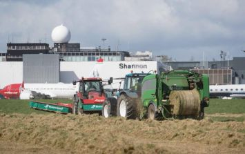 Shannon Airport's gesture to struggling farmers is pure class