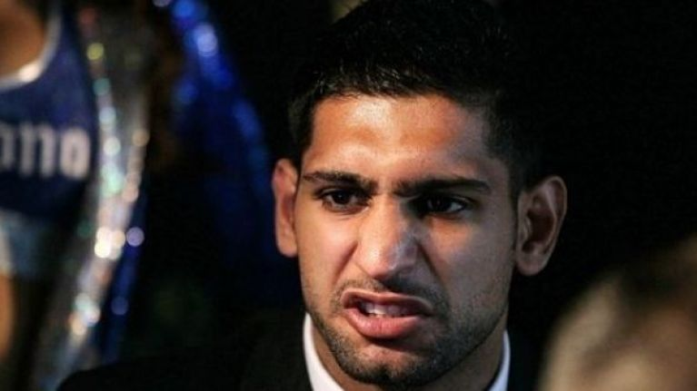 WATCH: Amir Khan's comeback fight lasted less than 40 seconds