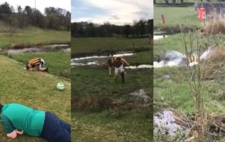 WATCH: Stag's party playing footgolf in Westport ends hilariously